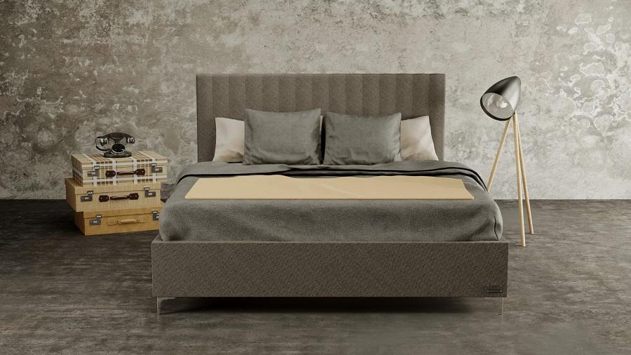 Vďaka voľnému priestoru pod posteľou bude energia pri spánku cirkulovať okolo celého vášho tela. Zdroj: materasso.sk